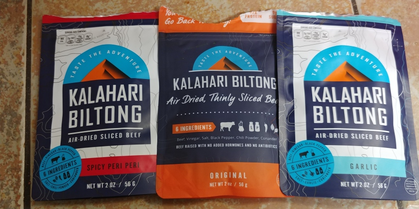 Snacks on the Go: Kalahari Biltong